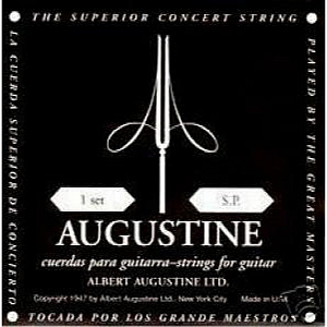 Guitar Strings Augustine Regals Black Classical