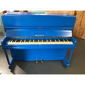 Brinsmead Resprayed Blue Upright Piano