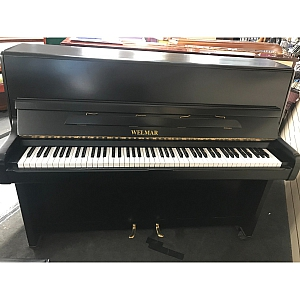Welmar Matt Black Upright Piano