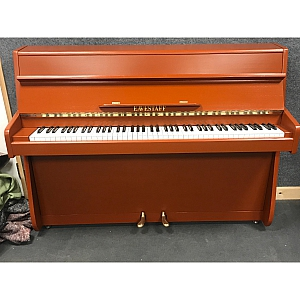 Eavestaff Resprayed Terracotta Upright Piano