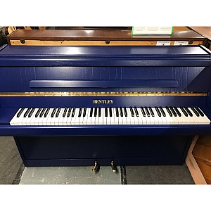 Bentley Resprayed Blue Upright Piano
