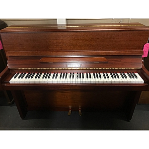 Welmar Mahogany Upright Piano