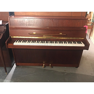 Zimmermann Dark Oak Upright Piano