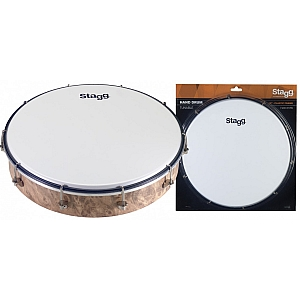 "12""Tunable Hand Drum, Plastic"