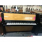 view Schimmel Black/Birch Art cased Upright Piano details