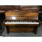 view Zender Walnut Upright Piano details