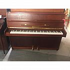 view Zimmermann Dark Oak Upright Piano details