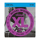 view D`Addario nickel wound super light gauge guitar strings details