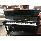 view Wendl & Lung Black Polyester Upright Piano details