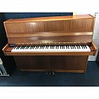 view Zimmermann Walnut Upright Piano details